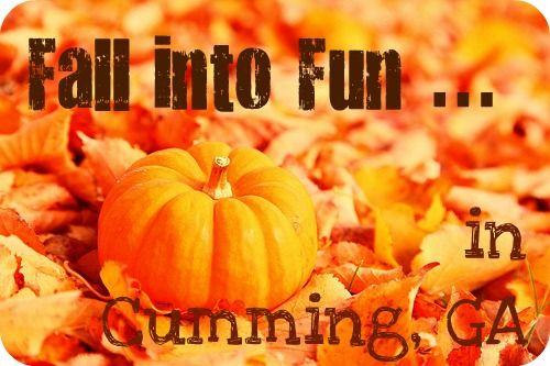 Weekend Activities in Cumming GA:  10/21 – 10/23