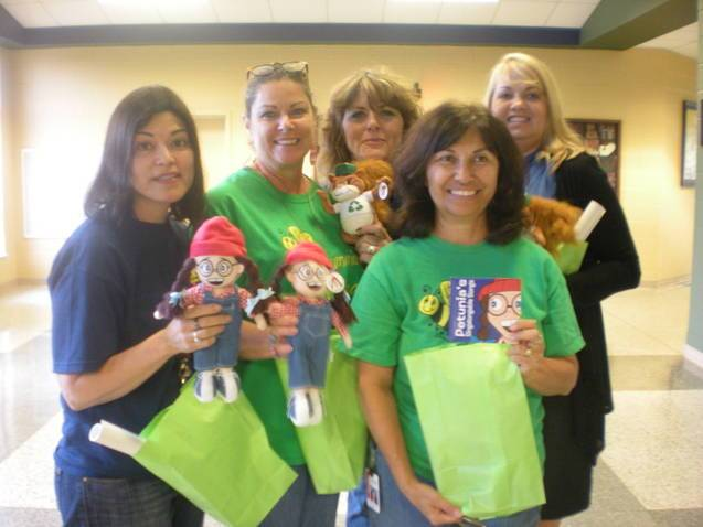 Goody Bags Bring Smiles to Local Schools