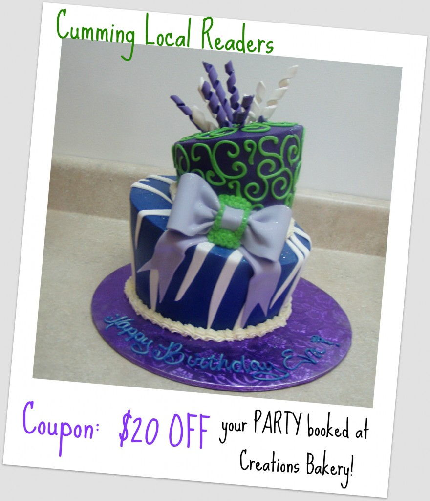 creations bakery coupon