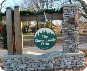 Kinsey Family Farm Entrance