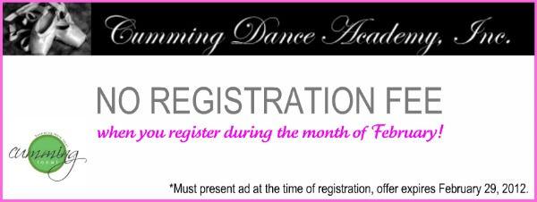 Sponsor Spotlight:  Cumming Dance Academy