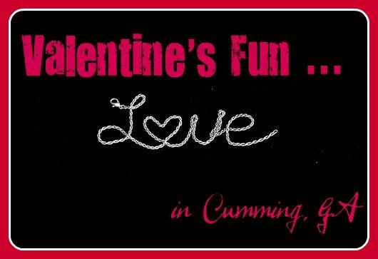 Celebrate Valentine's Day in Cumming GA
