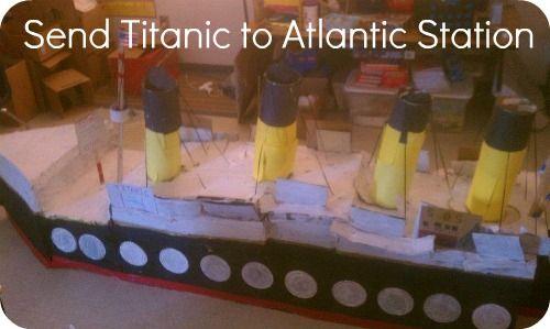 Send the Titanic 2 Atlantic Station