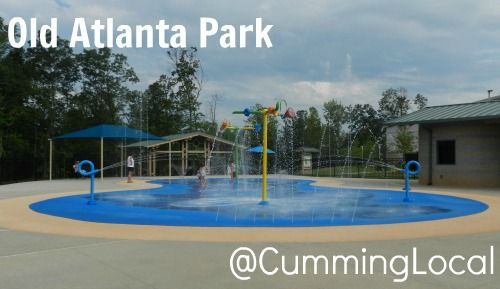 Old Atlanta Park Spray Pad in Forsyth County