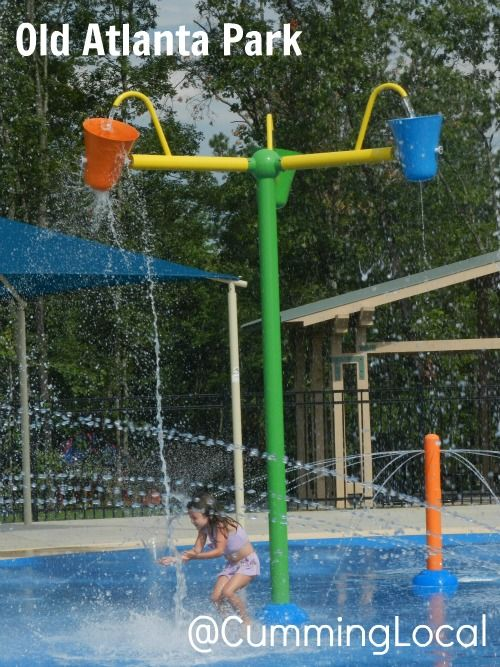 Old Atlanta Park Spray Pad Forsyth County