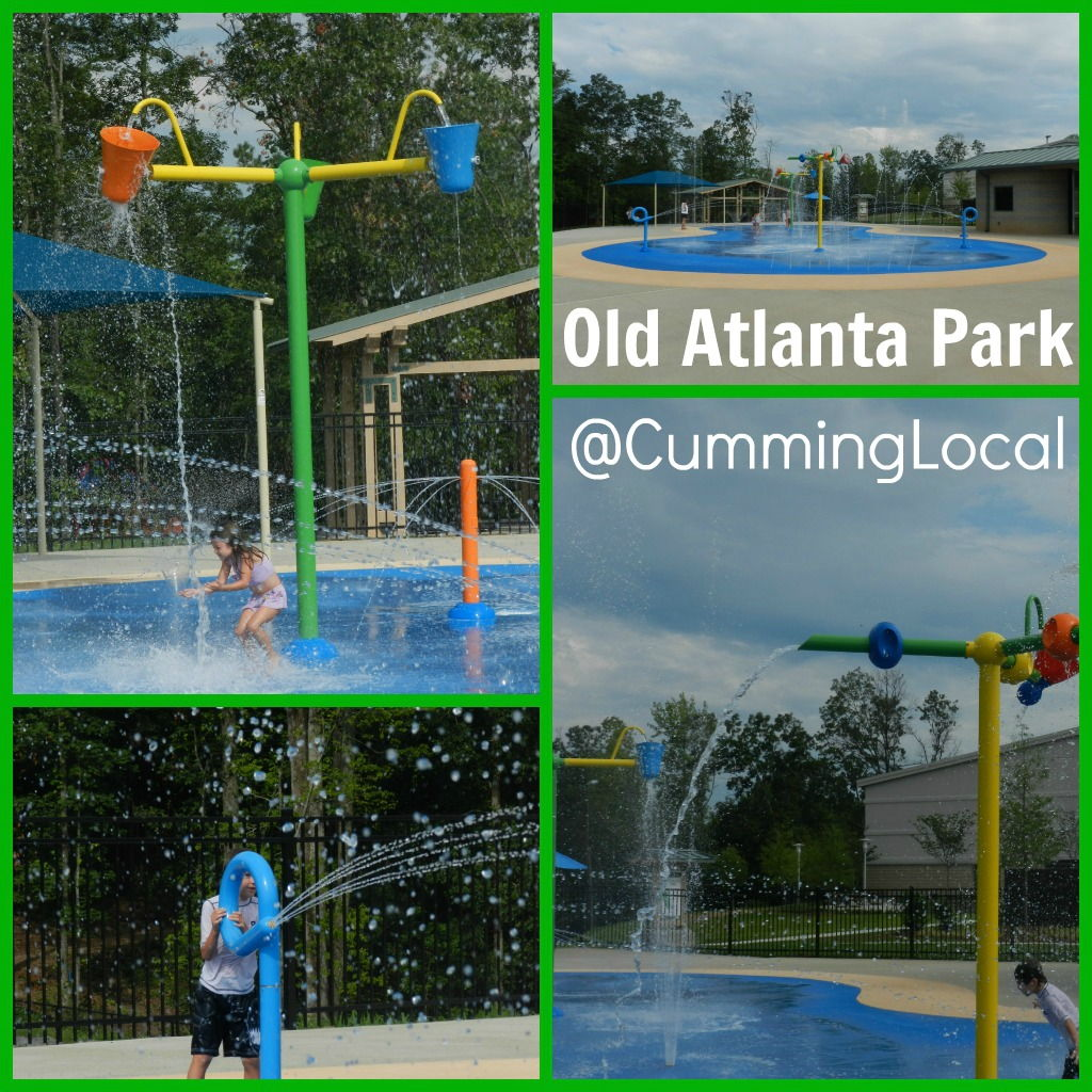 Old Atlanta Park Spray Pad Forsyth County