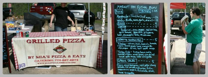 Mia's Pizza & Eats - Grilled Pizza Catering