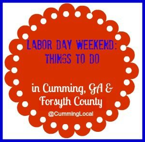 labor day weekend in forsyth county