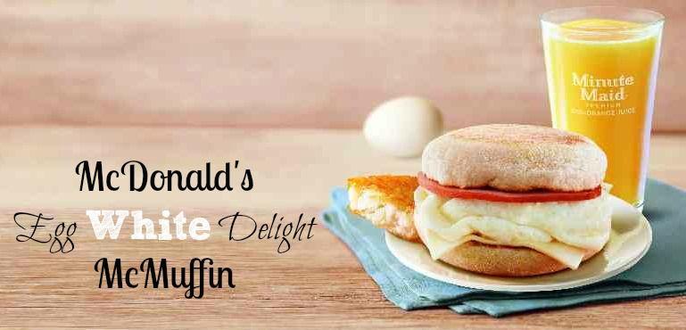 McDonald's Egg White Delight McMuffin