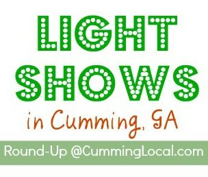 Christmas Light Shows in Forsyth County 2016