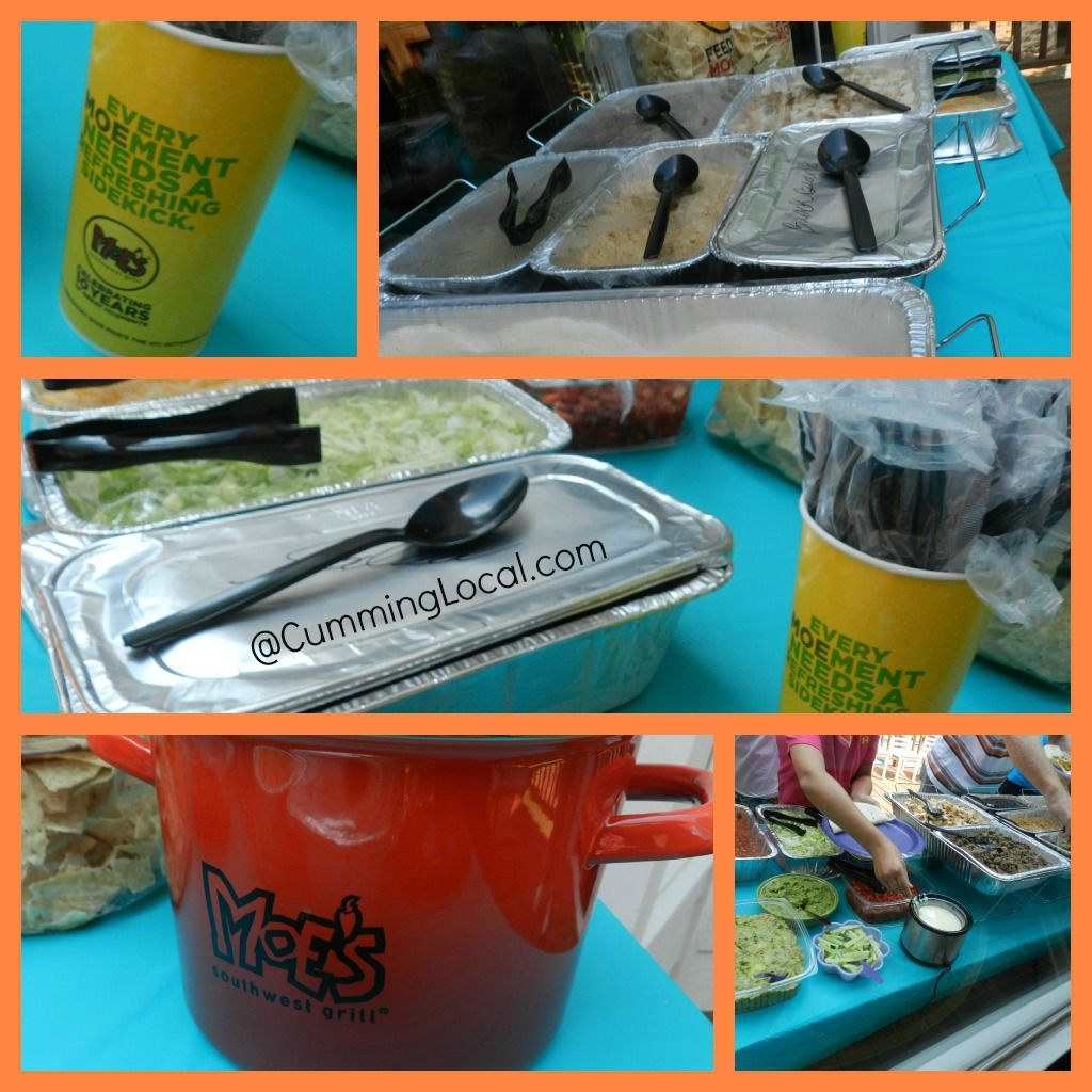 Moes Southwest Grill - Catering & Giveaway