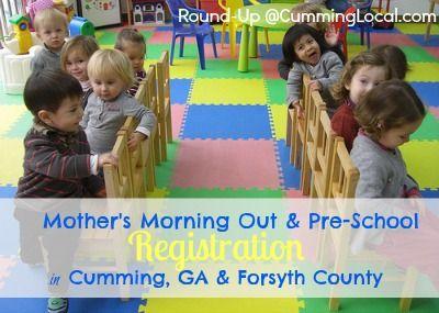 2017-2018 Pre-School Registration in Forsyth County