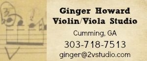 Ginger Howard Violin Viola Studio