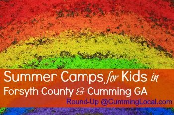 2016 Summer Camps in Forsyth County & Cumming GA