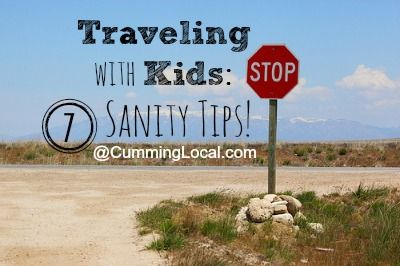 Traveling with Kids:  Sanity Tips