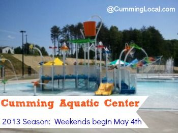 Cumming Aquatic Center 2013 Season Opening