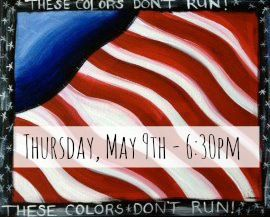 May GNO - American Flag - Thursday May 9th