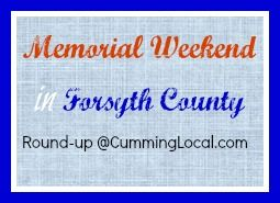 memorial weekend in forsyth county