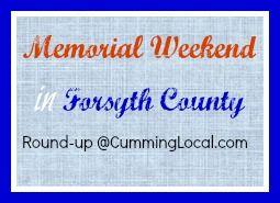 memorial weekend in forsyth county