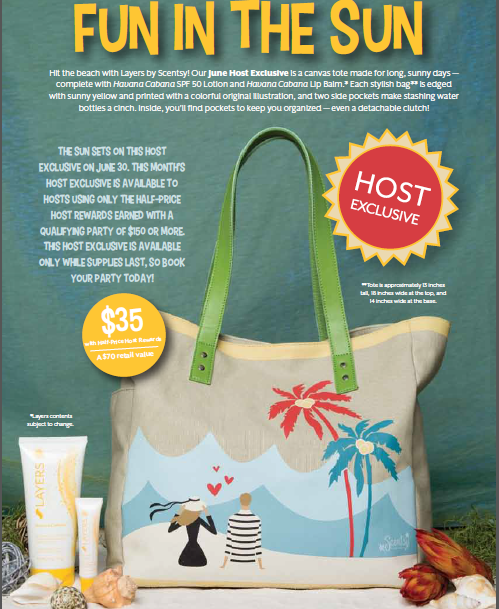 Scentsy Booking