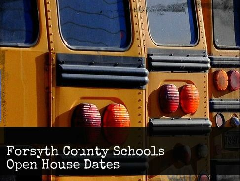 Forsyth County Back to School 2014