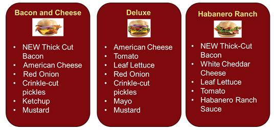 McDonalds Quarter Pounder Flavors