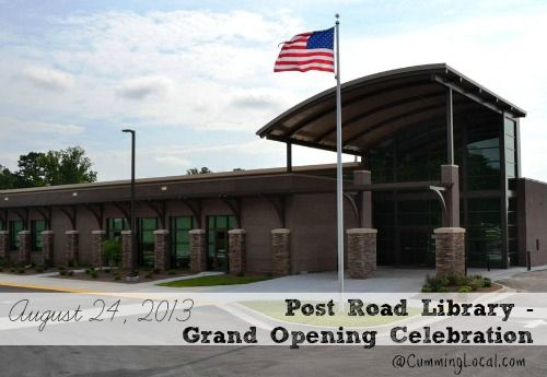 post road library cumming ga