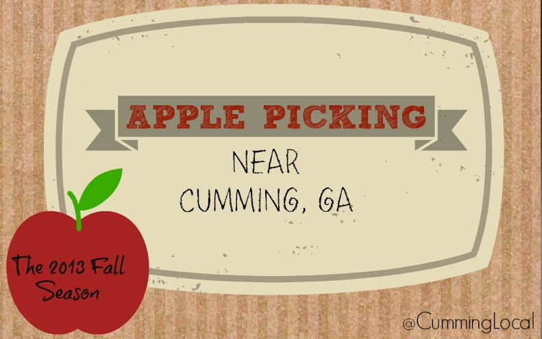 2014 Apple Picking Near Cumming GA