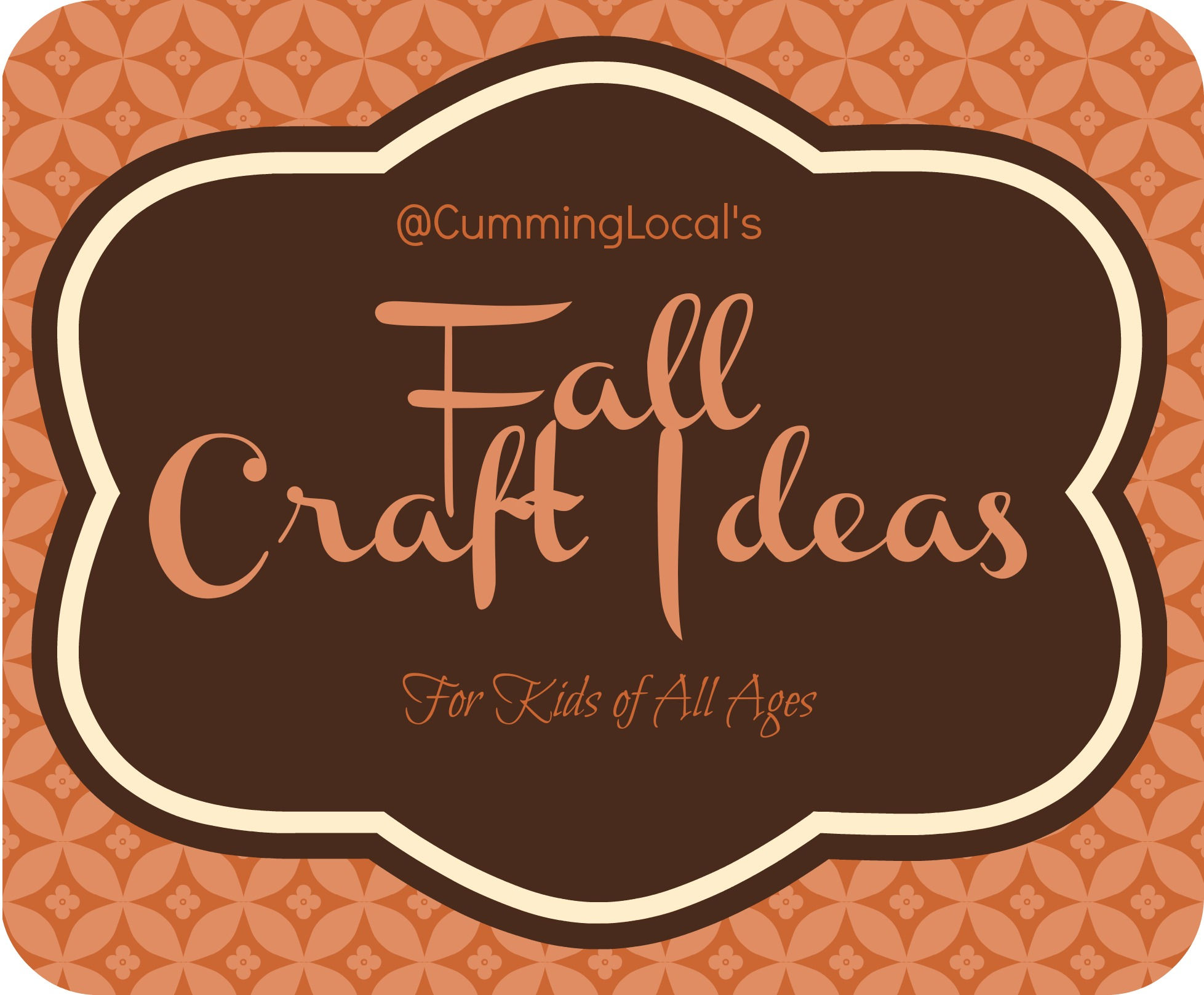 Fall craft ideas for kids of all ages cumming local for Fun crafts for all ages
