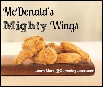 McDonald's Mighty Wings {and a giveaway}