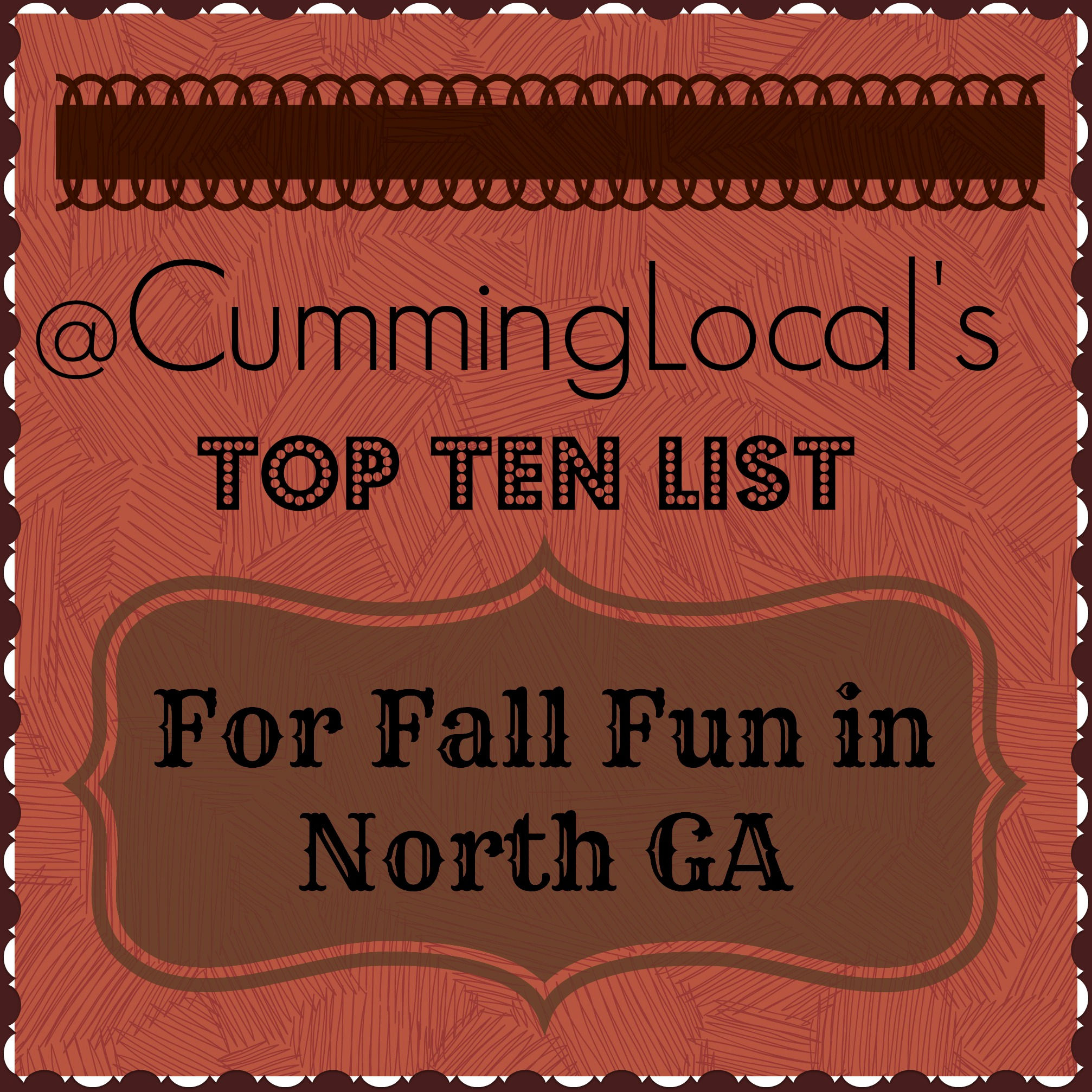 Cumming Local's Top Ten List for Fall Fun in North GA