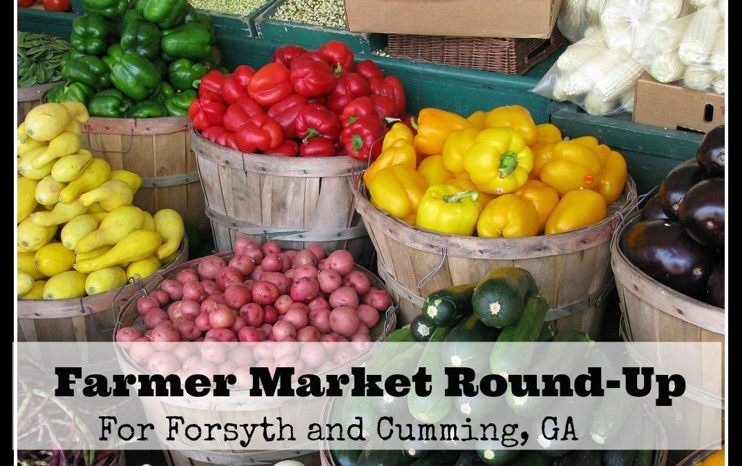 Farmers Markets in Cumming GA & Forsyth County