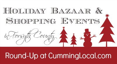 Holiday Shopping Events in Forsyth County