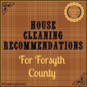 HouseCleaningRecommendations