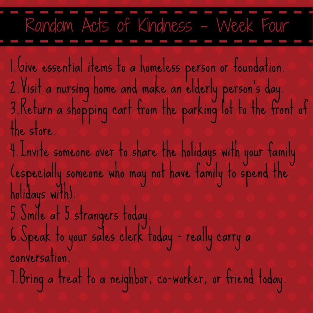 Random Acts of Kindness for Forsyth County