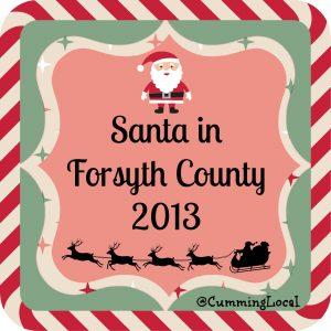 SantaInForsythCounty