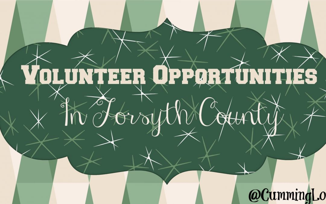 Volunteer Opportunities in Forsyth County