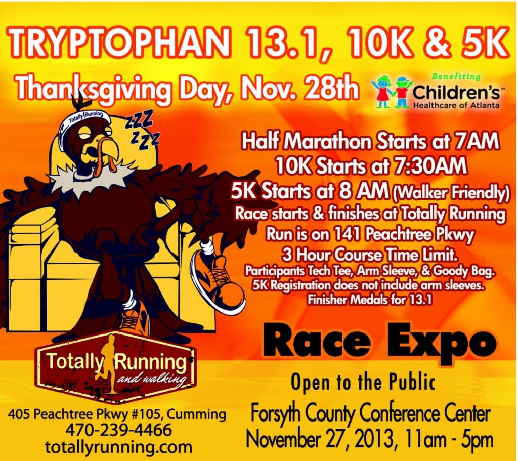 Thanksgiving Day 5k in Cumming GA