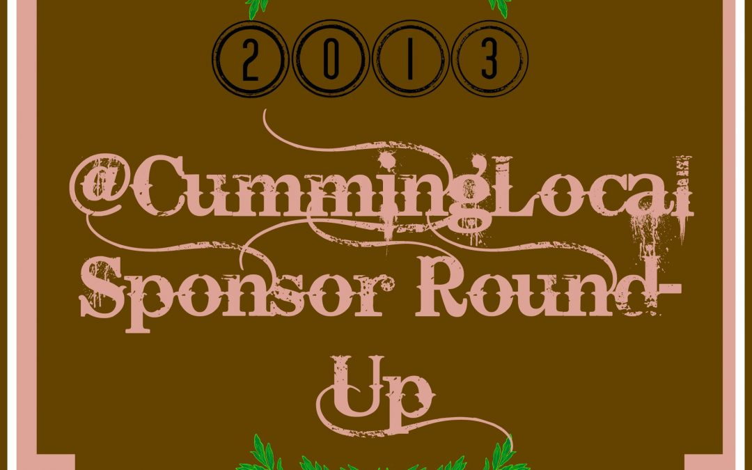 Cumming Local Sponsor Round-Up 2013