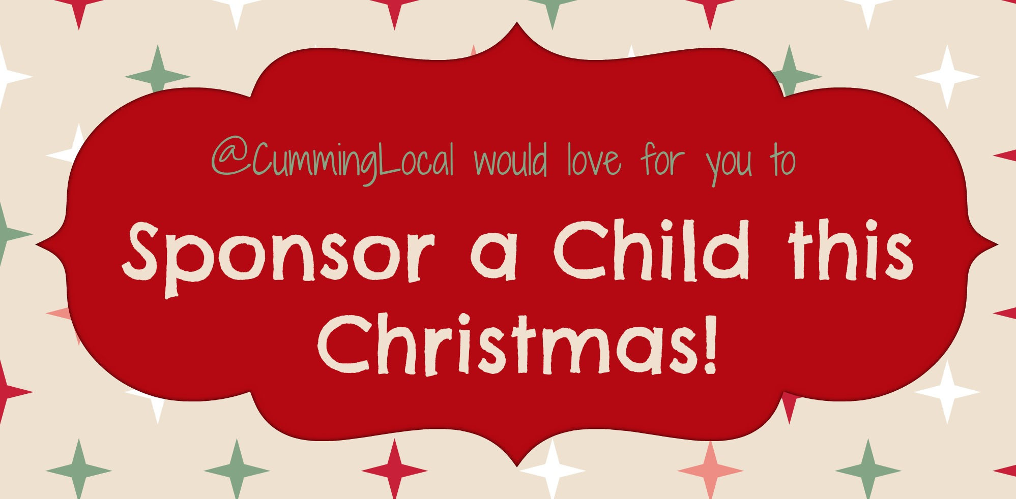 Sponsor a Child this Christmas 2013