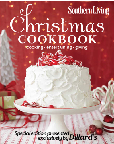 Dillard's Southern Living Holiday Cookbook Promotion
