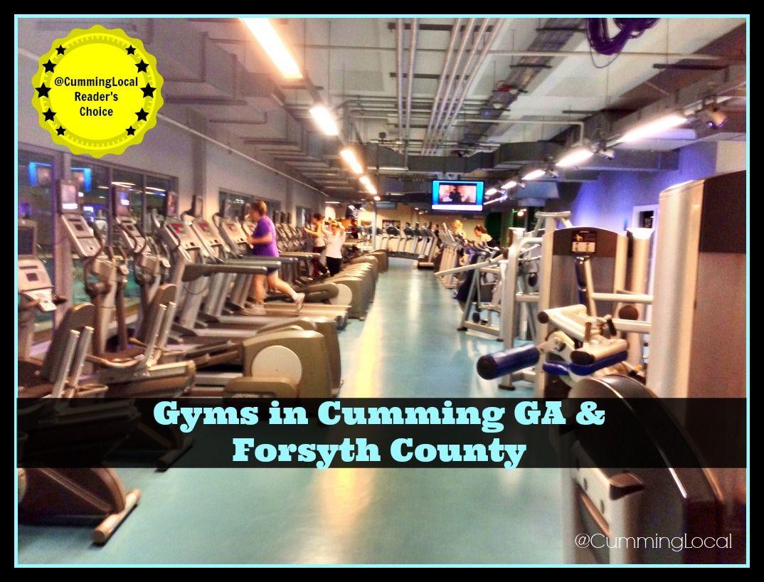 Gyms in Cumming GA & Forsyth County