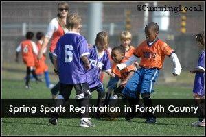 Spring Sports Registration Forsyth County