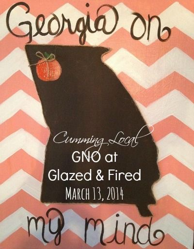 Monthly Girl's Night Out at Glazed & Fired