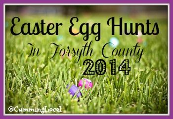 2014 Easter Egg Hunts in Forsyth County