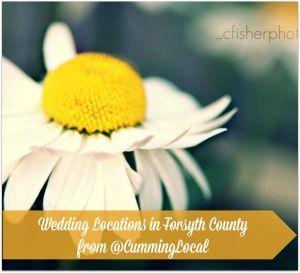 Wedding Locations in Forsyth County