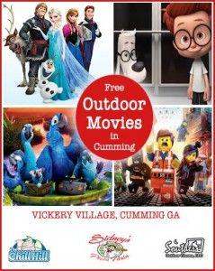 Outdoor Movies in Cumming GA