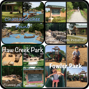 Parks in Forsyth County