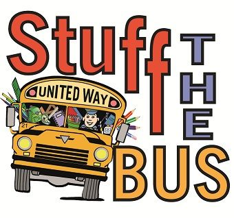 United Way in Forsyth County Stuff the Bus