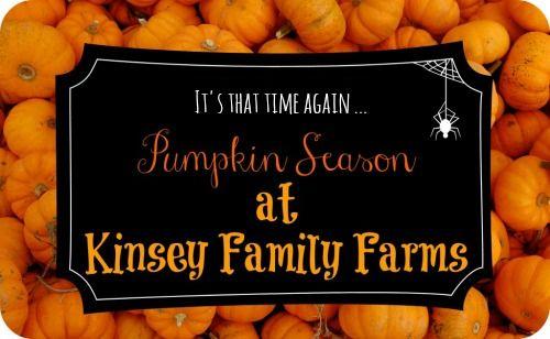 Kinsey Family Farm: 2014 Fall Pumpkin Season